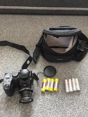 Ge HZMP image, Stabilisation 15x optical Zoom digital camera