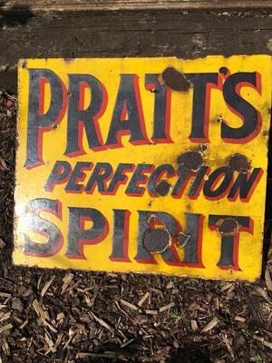 Old Pratt's advertising sign