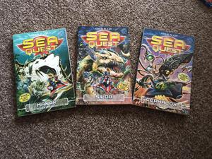 Sea Quest books by Adam Blade
