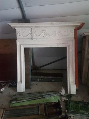 Selection of cast iron and wooden victorian fireplaces for sale