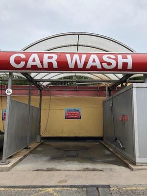 3 Bay Christ Car Wash, Air/Water Tower & Double Sided Car Vac