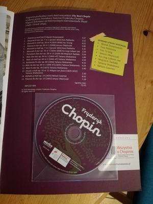 Dwa zeszyty edukacyjne - Chopin i Maria Sklodowska Curie
