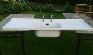 Vintage s Enamel sink