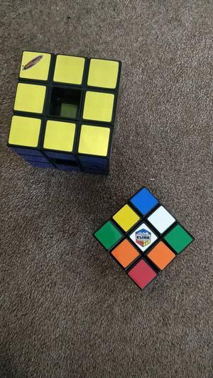 2 rubix cubes