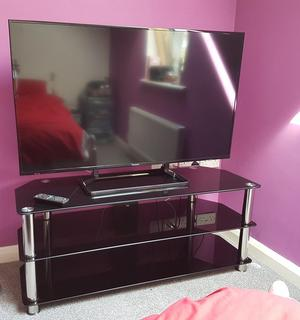 50 inch Panasonic HD TV with TV stand