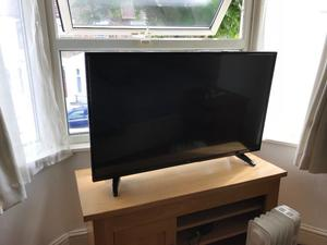 """Bush 43"""" full Hd led tv. FULL WORKING ORDER. £150 NO OFFERS. CAN DELIVER"""