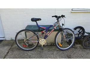Dyno Void 21 speed 26 inch wheel mountain bike in good