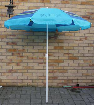 GARDEN PARASOL FROM MARKS AND SPENCER LITTLE USED ONLY £10
