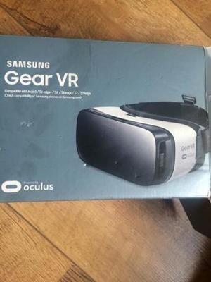 Gear VR Virtual reality for Samsung phone.