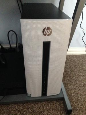 HP Pavillion - Gaming PC and Samsung monitor - Used (Excellent condition with upgraded specs)