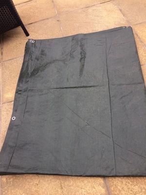Large green ground sheet