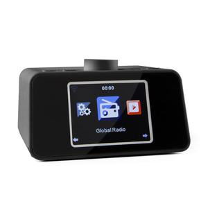 "auna i-snooze Internet radio WLAN USB AUX 3.2"" TFT Color"