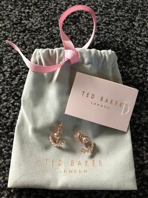 BRAND NEW Ted Baker Rose Gold earrings