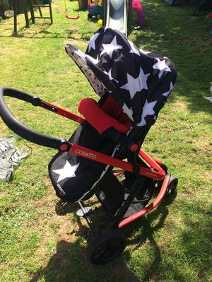 Cosatto giggle 3 in 1 travel system all star addition
