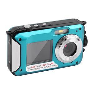 Double Screen 24MP Waterproof Digital Video Camera P DV
