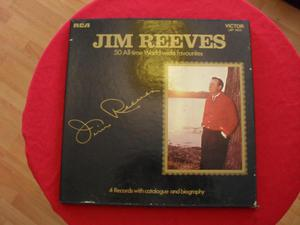 Jim Reeves vintage boxed set of four LP's