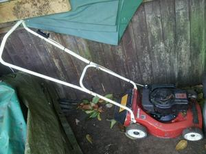 Mountfield petrol lawn mower in working order