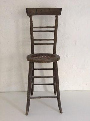 19th Century child's straight back chair.