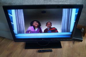 "42"" LG LCD TV USED,V.CLEAN,FULLY WORKING,FREEVIEW,DTV,HDMI,GENUINE REMOTE"