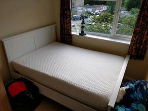 "Argos (i think) double 4' 6"" bed frame"
