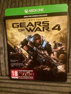 Gears of War 4 Ultimate Edition Xbox One Game