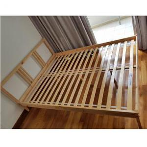 IKEA FJELLSE Double bed frame with LONSET slatted base!
