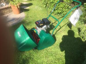 """Lawn mower petrol 17"""" cylinder mower"""