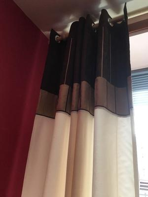 Next Lined Eyelet Curtains 66 X 72