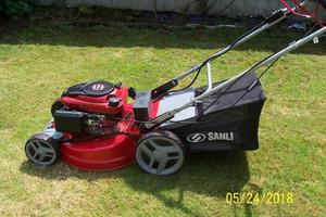 SANLI Lawn Mower, Key Start..