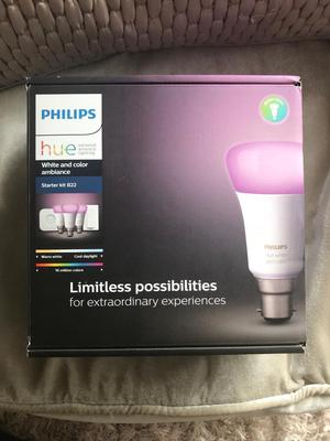Brand new and sealed Philips HUE bulbs