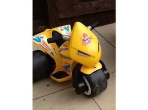 Child's battery operated motor bike in Port Talbot