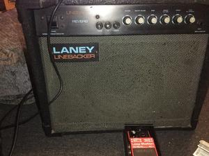 Guitar amp and boss loop pedal