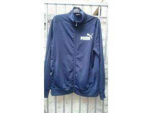 Mens vintage puma tracksuit top jacket size large in Swansea