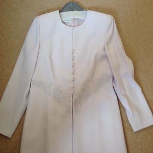 Womens special occasion lilac dress and jacket, size 12