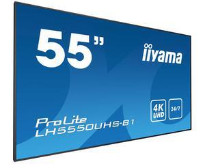 "iiyama LHUHS-B1 Video wall 55"" LED 4K Ultra HD Black"