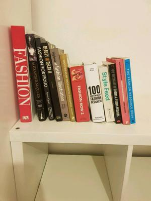 Fashion books and mags