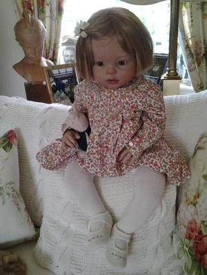 Reborn 1 year old doll. Execptional