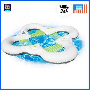 """90"""" Sport Family Lounge Inflatable for Swimming Pool Beach"""