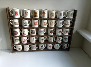 Beer mugs of the world, all in excellent condition, each
