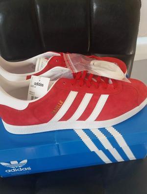 Brand new red adidas gazelle
