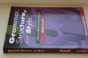 Grammar, Structure & Style - A Level English (Oxford) - Used