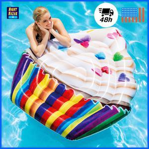 """Intex Inflatable Cupcake Pool Mat 56"""" x 53"""" Swimming Pool"""