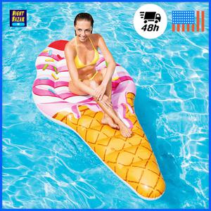 "Intex Inflatable Ice Cream Pool Mat Swimming Pool 88"" x 42"""