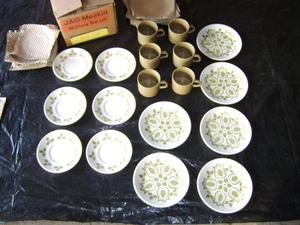J.G.Meakin 18 piece tea set,Tuliptime pattern,70's style,as
