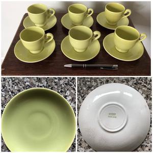 Myott coffee cups & saucers