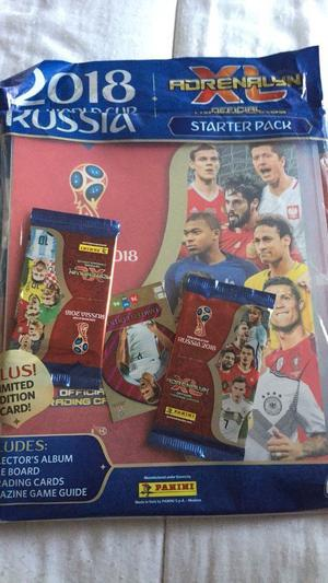 PANINI ADRENALYN XL WORLD CUP CARDS AND BINDER SET