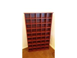 PIGEON HOLE CD STORAGE UNIT in Bicester