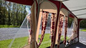 Trio combi awning in fareham 🥇 | Posot Class