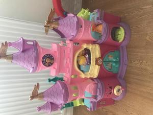 Elc Wooden Princess Castle With Figures Posot Class