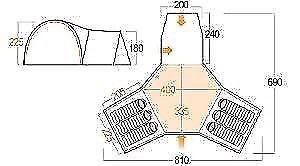 Vango breckenridge 600 tent | Posot Class